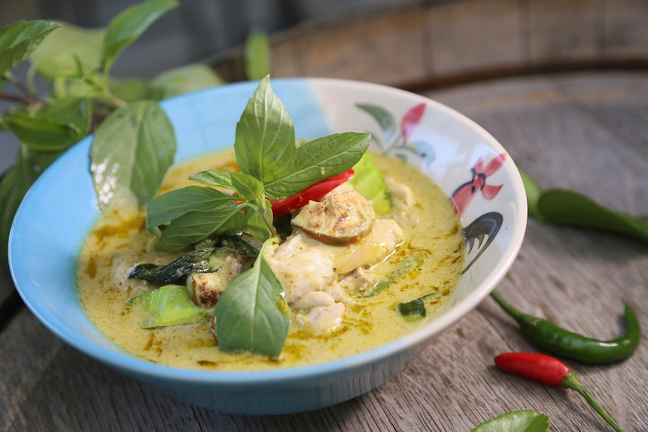Green Curry Thai Food  - Huahom / Pixabay